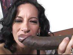 Blacks On Cougars. Melissa Monet