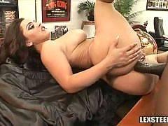 Liza Del Sierra Brings Anal to Lexs Office!