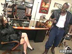 Liza Del Sierra Brings Anal to Lexs Office!