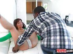 White Milf Cheats On Her Husband With Black Guy 1