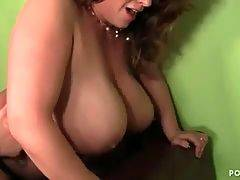 Lovely and horny bitch is satisfying her daddy